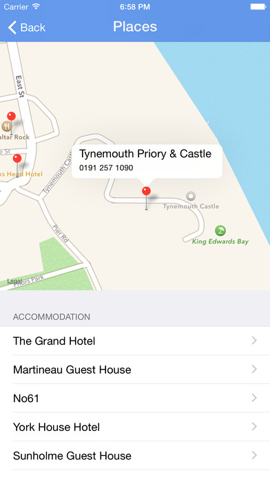 Surfing in Tynemouth iPhone Screenshot 2