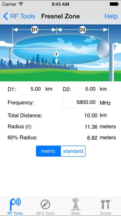 RF Toolbox iPhone Screenshot 2