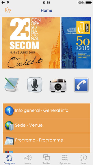Congreso SECOM 2015