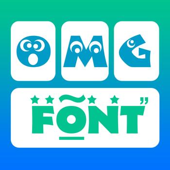 OMG Font Keyboard Pro 工具 App LOGO-硬是要APP
