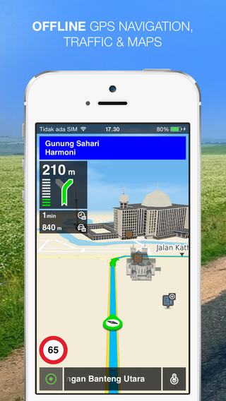NLife Indonesia - Offline GPS Navigation Maps