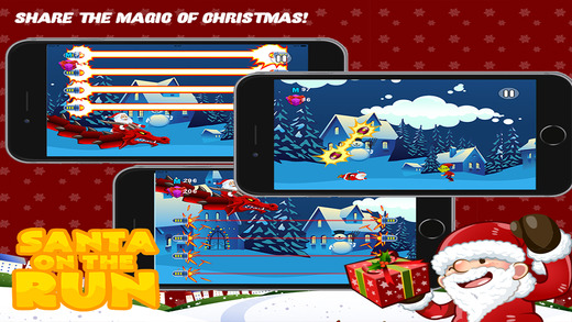 Santa on the Run Pro: The Impossible Christmas Mission Game