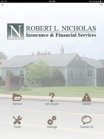 Robert L Nicholas Insurance HD
