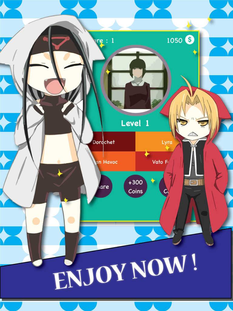 Anime Characters Quiz : App shopper anime characters quiz fullmetal alchemist