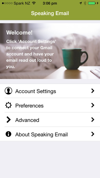 Speaking Email