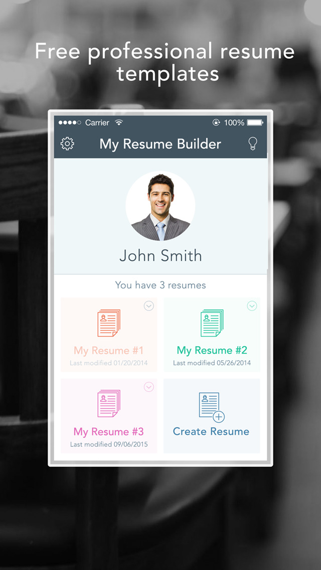 app shopper resume genie free and easy resume cv