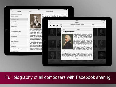Screenshot #3 for Masterpieces of classical music.