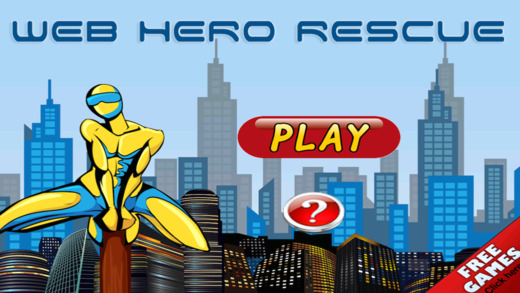 Web Hero Rescue Pro - Fun Survival Jumping Challen