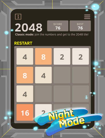 2048 Number Puzzle game + Best 2048 app with unlimited undo feature, 5x5 mode, time survival mode plus #1 multiplayer screenshot