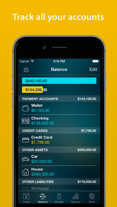 Money Pro - Personal Finance, Budget, Bills Screenshots