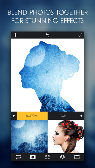 Blend - Double Exposure Photo Blender Edits Pictures to Create Arty Image Effects for Instagram