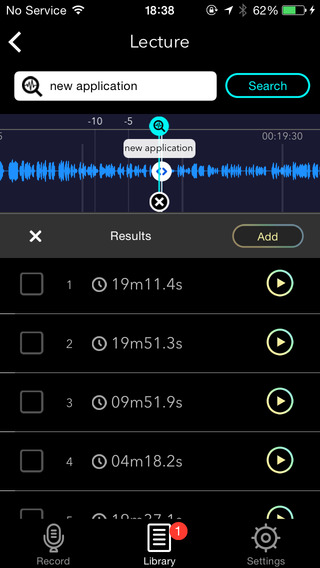 English US Keyword Search Voice Recorder