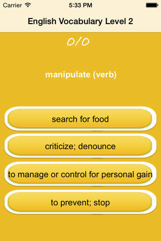 English Vocabulary-Acquiring Communication Skills screenshot 3