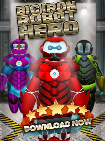 Big Iron Super Hero Robot Creator 2 – Makeover of Bot-Man Games for Free screenshot