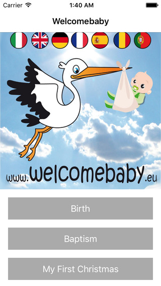 Welcomebaby Announce your baby