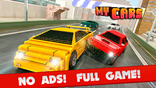 My Cars . Best Car Racing Simulator Game With Blocky Skins