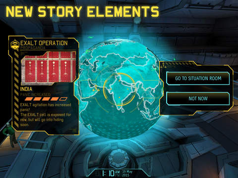 Screenshots of XCOM®: Enemy Within for iPad