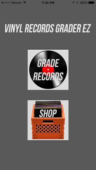Vinyl Records Grader EZ