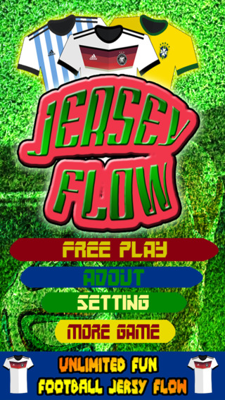 A addictive football Jersey flow brain puzzle game