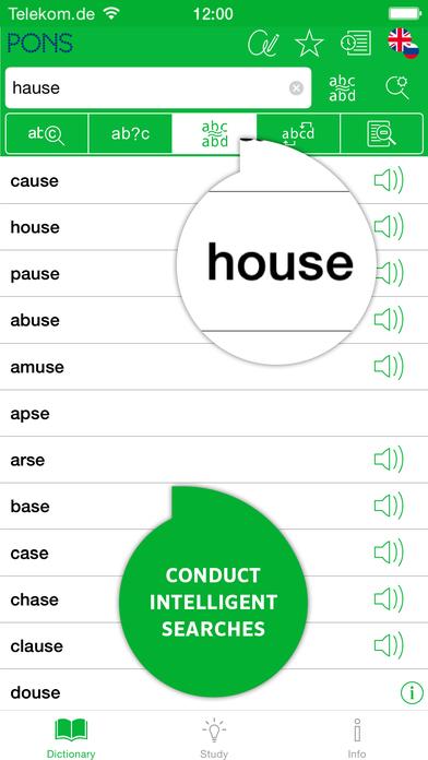 PONS Compact English <-> Russian Dictionary iPhone Screenshot 4