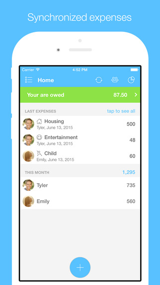 Cospender - Split Expenses With Friends