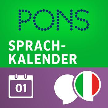 Language Calendar Italian - Learn Italian day by day with PONS LOGO-APP點子
