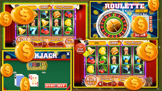 Lucky Slots-Casino777-Blackjack And Roulette