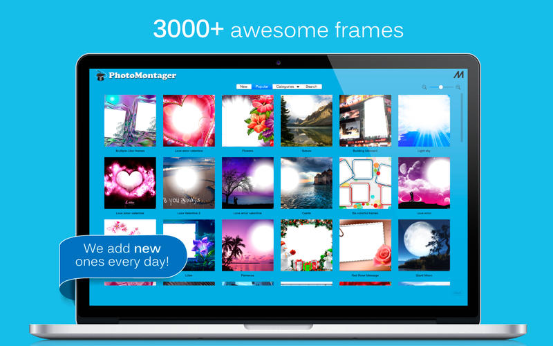 PhotoMontager Screenshot - 1