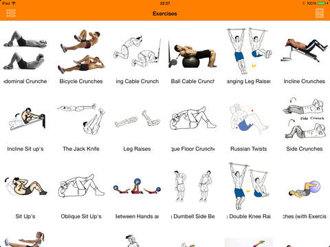 Complete Gym Guide Lite screenshot