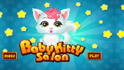 Baby Kitty Care Salon - Animal Game