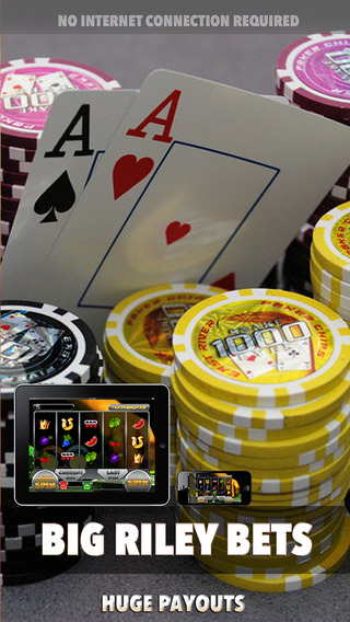 Big Riley Bets Slots - FREE Game Slot Wheels of Fortune a World of Money