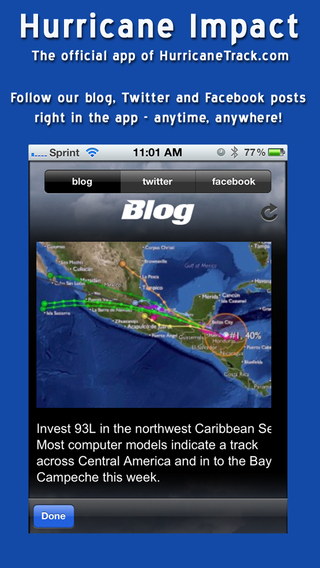 Hurricane Impact by HurricaneTrack.com