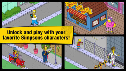 Screenshots of The Simpsons™: Tapped Out for iPhone