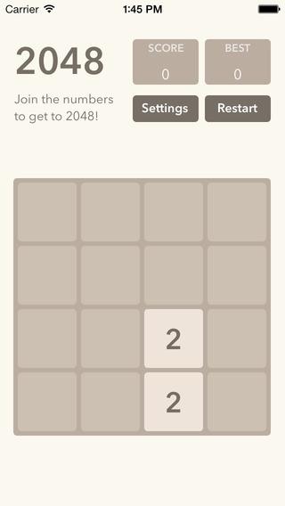 Magic Number 2048