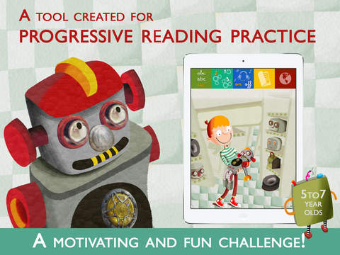 Teach me to read – Hulot the Robot an Educational Montessori and Constructivist Tool with Activities