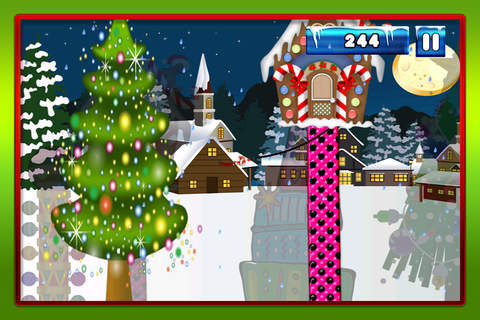 A Merry Christmas Santa Swing : Tight-Rope Tree Swinging Adventure FREE screenshot 4