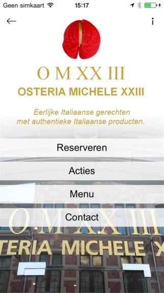 Osteria Michele XXIII