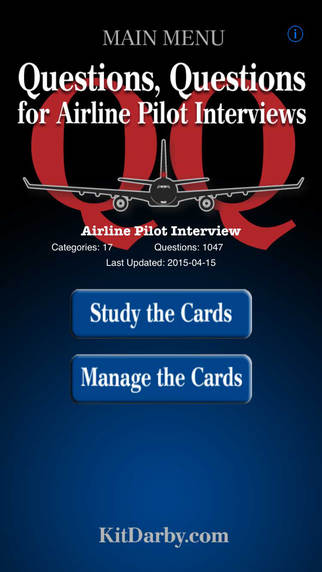 Questions Questions for Airline Pilot Interviews