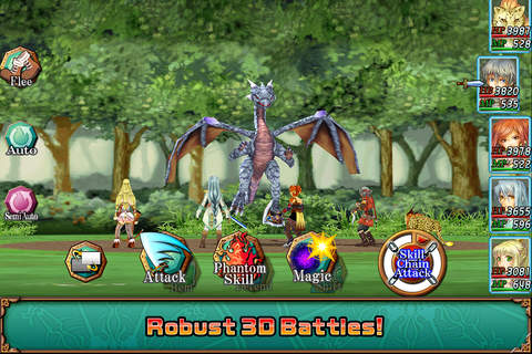 RPG Illusion of L'Phalcia screenshot 2