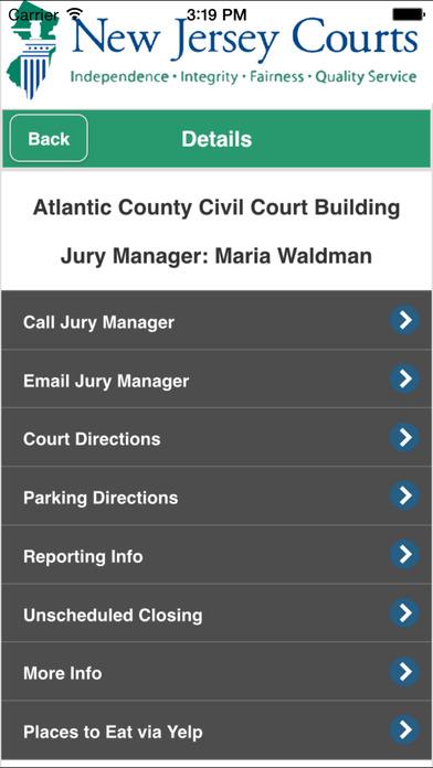 New Jersey Juror On The App Store