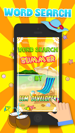 Word Search At the Summer Season – Super Classic