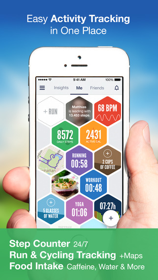 Argus - Pedometer and GPS Activity tracker