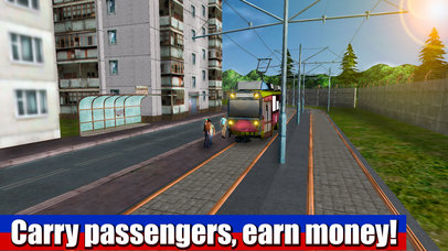 Russian Tram Driver 3D screenshot 2