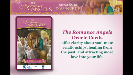The Romance Angels Oracle Cards - Doreen Virtue, Ph.D.