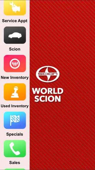 World Scion Dealer App