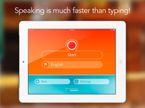 Speech Recogniser HD: Convert your voice into text with this dictation app.