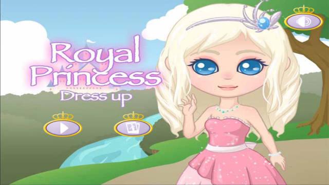 Princess Royal Dress Up Fun