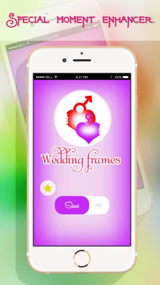 Wedding Photo Frames - Lovely Photo Editor