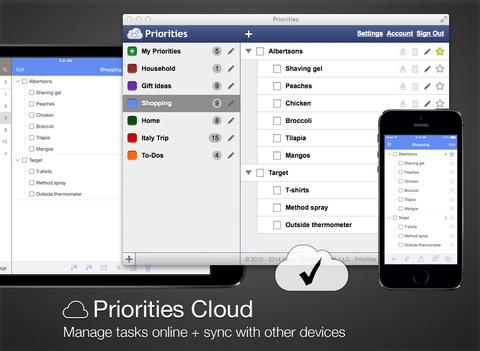 免費生產應用App Priorities 阿達玩APP