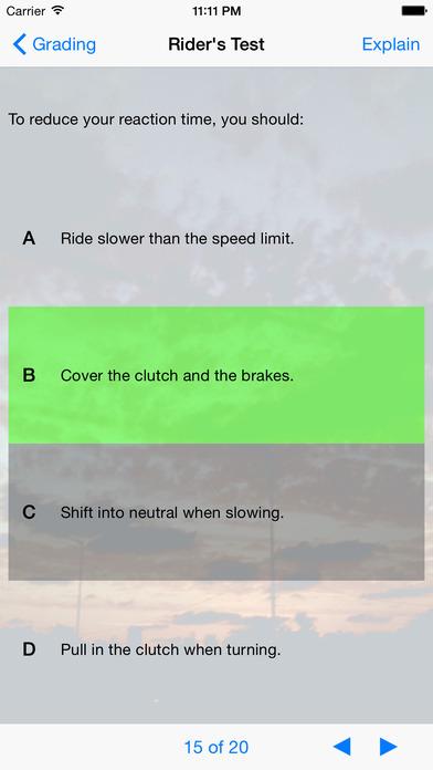Ride Safe iPhone Screenshot 1
